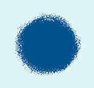 Blue Paint Splotch