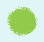Green Paint Splotch